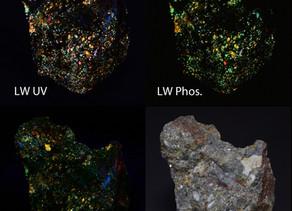 Sphalerite from the Horn Silver Mine, Frisco, Utah