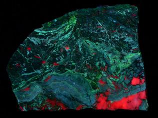 Willemite, Smithsonite, Calcite, Puttapa Mine, Puttapa, Australia
