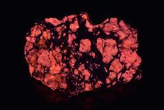 Red Fluorescent Barite, Custer County, Colorado