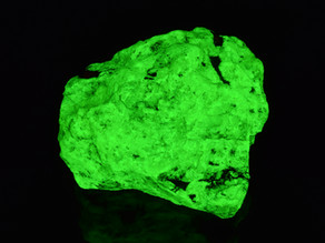 Apple Green Willemite, Franklin, New Jersey