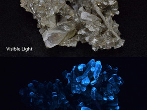 Barite Crystals, Linwood Mine, Buffalo, Iowa