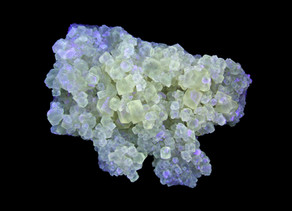 Fluorescent and Phosphorescent Calcite, Annabel Lee Mine, Cave-In-Rock, Illinois