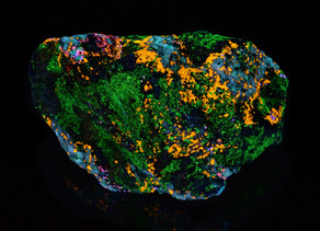 Sphalerite, Chlorophane, Apatite and Willemite from Franklin, New Jersey