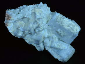 A Beautiful Midwestern Fluorescent Classic- Celestine, Strontianite and Calcite from the Stoneco Lim