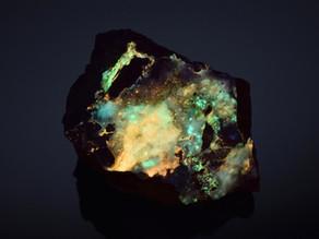 Idrialite, a Rare Organic Fluorescent Mineral