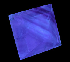Fluorite Cleavage Octahedron from the Hill-Leadford Mine, Cave-In-Rock, Illinois