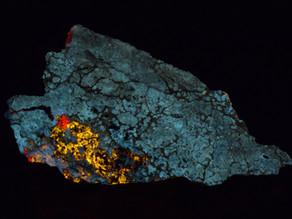 Wollastonite, Calcite and Aragonite, Desert View Mine