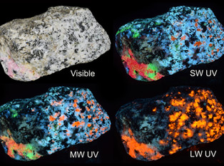 Greenland Fantasy Rock, a Spectacular, Multi-Colored Fluorescent Treat from the Taseq Slope
