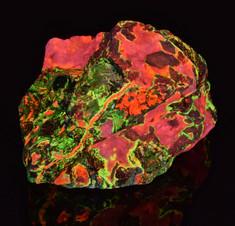 Willemite and Calcite, Puttapa Zinc Mine, Australia
