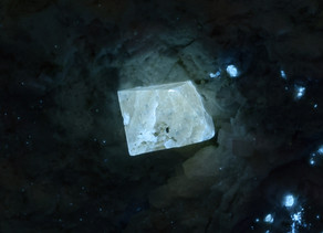 Scheelite Octahedrons on Matrix, Ortiz mine, Golden, New Mexico