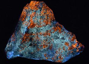 Sphalerite and Hydrozincite, Big Cottonwood Canyon, Utah