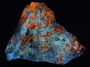 Sphalerite and Hydrozincite, Big Cottonwood Canyon, Utah