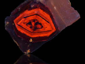 Ludlow Diamond, a Rare and Unique Fluorescent Specimen from Southern California