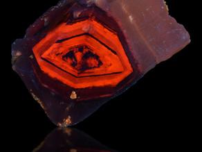 Ludlow Diamond, a Rare and Unique Fluorescent Specimen from Southern California