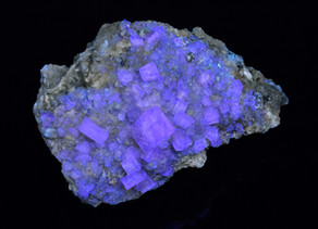 Fluorite, May Stone Quarry, Ft. Wayne, Indiana