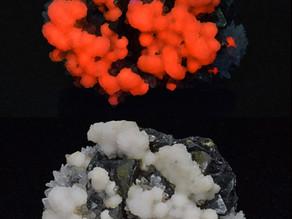 Manganocalcite, Huaron Mine, Peru