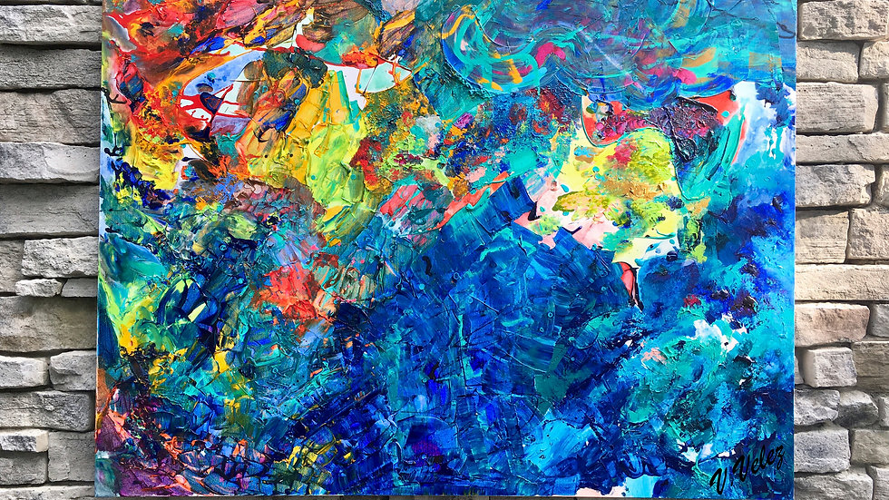 Tropical Oceans. Brilliant Splendor.