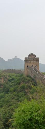 Muraille de Chine, en route vers Simatai
