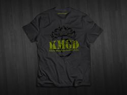 T-Shirt KMGD back