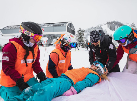 Girls get a taste of ski mountain rescue — Jackson Hole News & Guide, February 2019