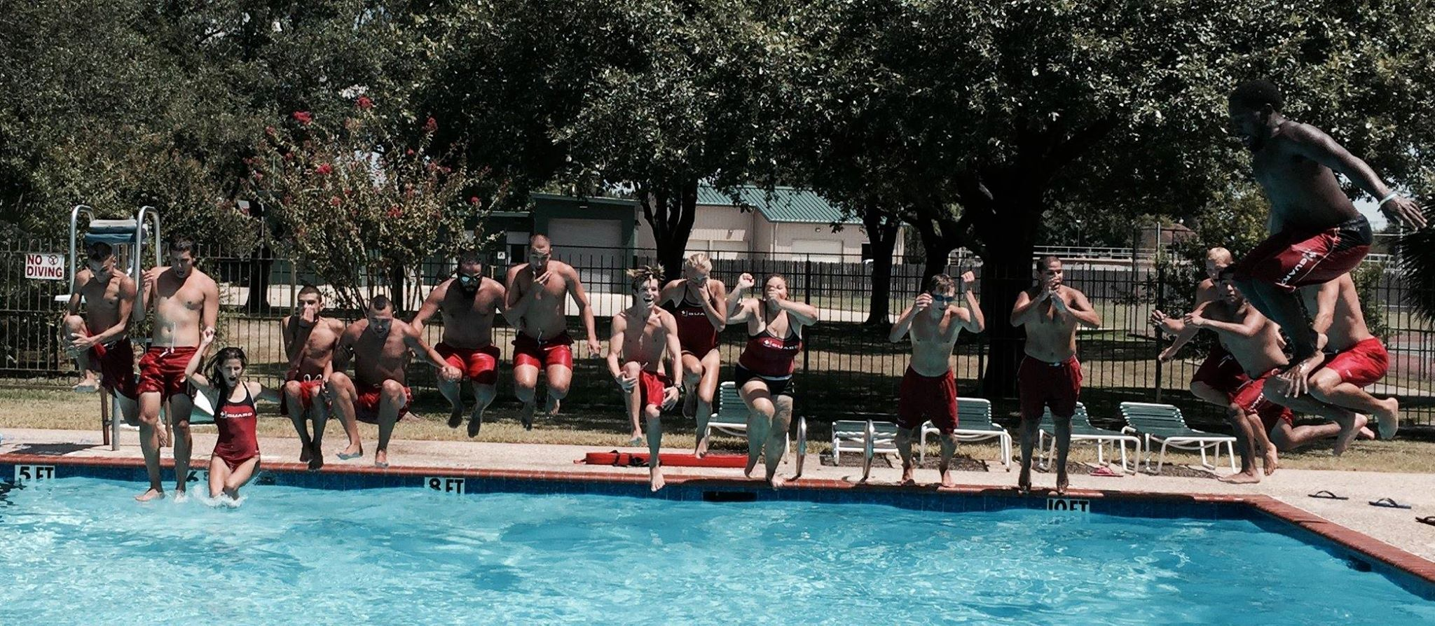 Lifeguards Pool Management Group Work and travel USA (2)