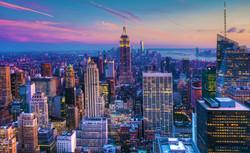 Manhattan Skyline at Dusk_edytowane
