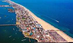 Ocean City widok Work and Travel