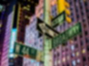 Broadway and 44st Street Signs, Manhatta