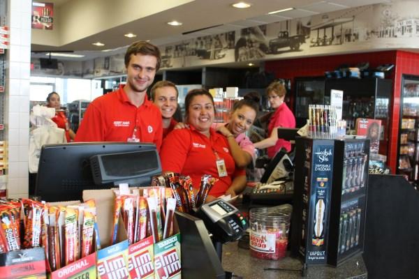 Studenci Work and Travel w Kent Kwik