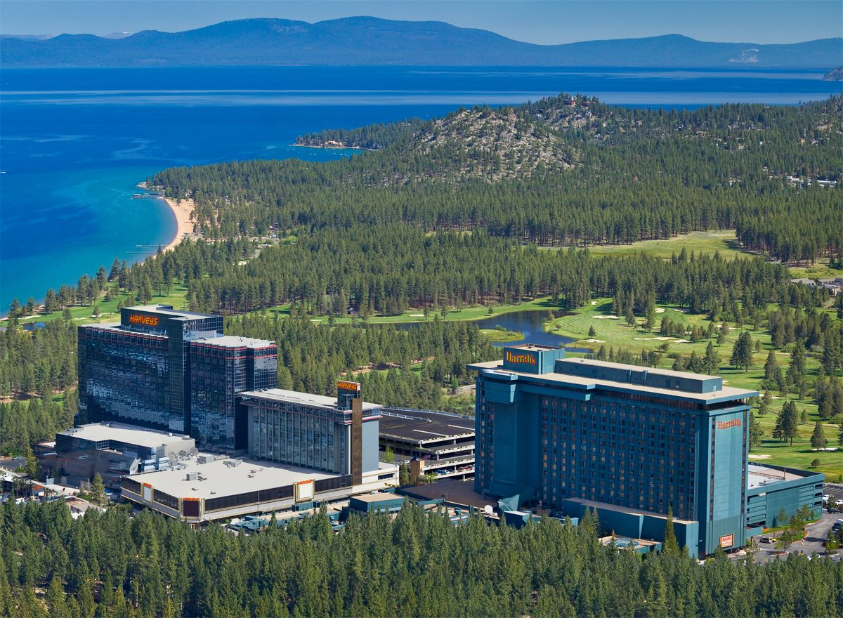 harrahs and harveys lake tahoe stateline nevada kalifornia usa j1 wiza work and travel summer progra