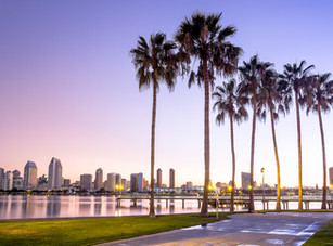 Downtown City of San Diego, California U