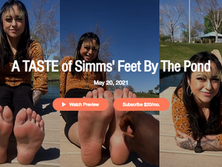 Body Positivity with Simms' Feet (Double Feature)
