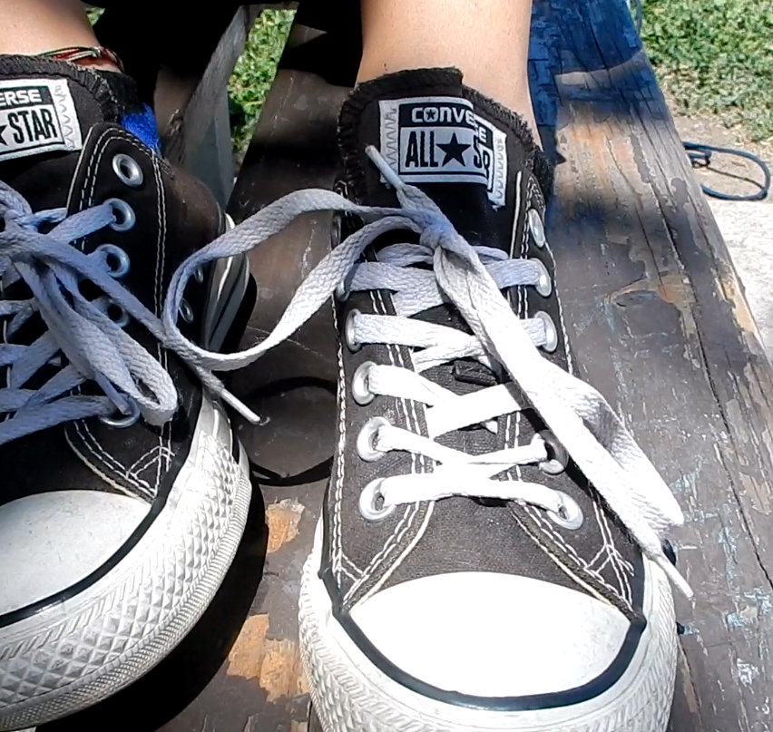 Rebecca's High School Teen Feet