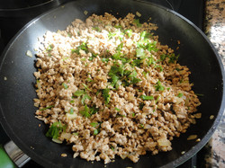 minced meat baked