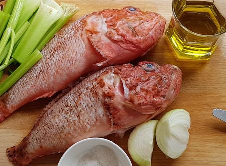 Fish soup - Psarosoupa