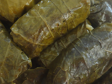 Stuffed vine leaves - Dolmades