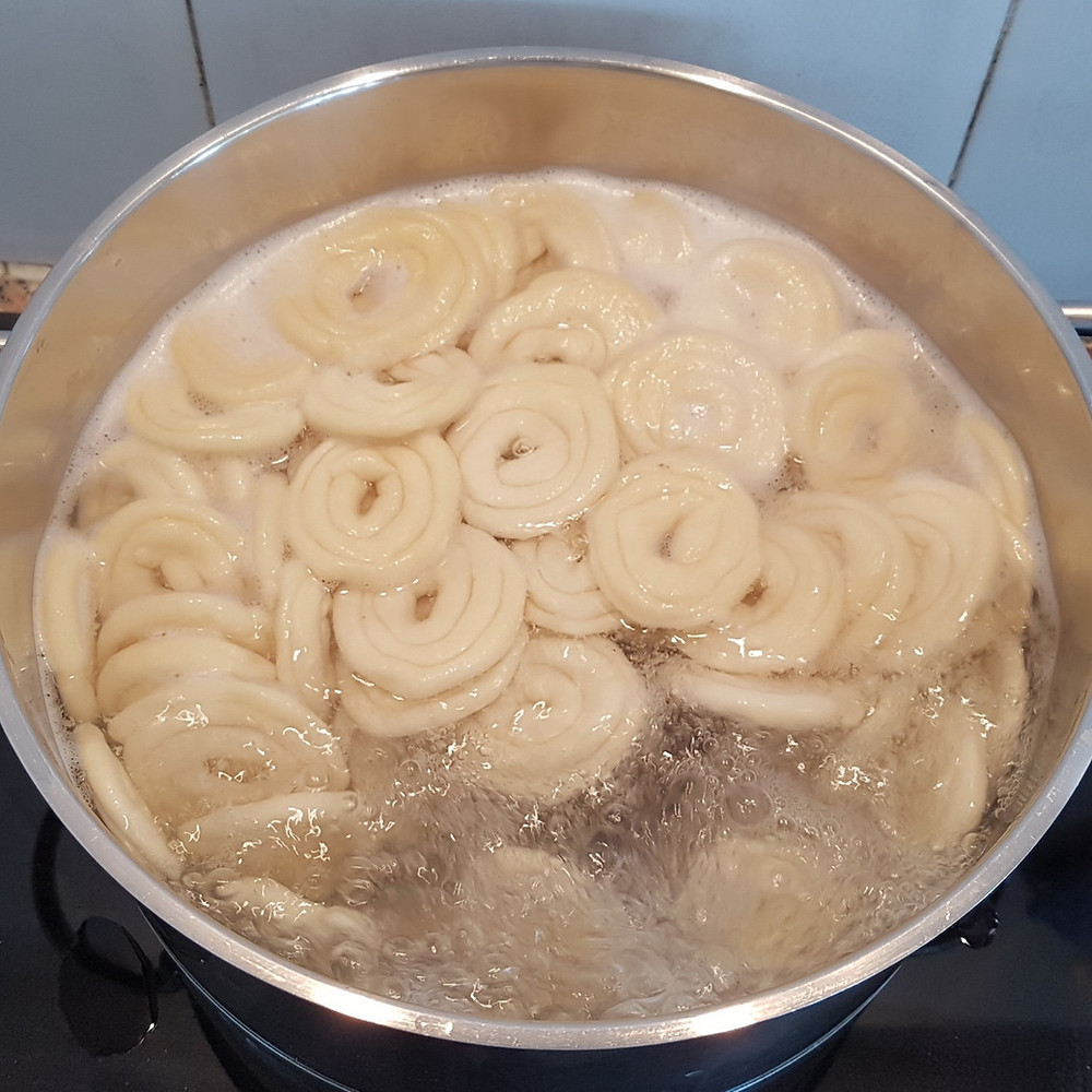 boil swirls like pasta