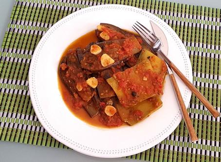 Imam Bayildi - Eggplant in tomato sauce