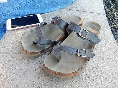 Elise's Worn Sandals
