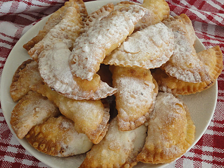 soft cheese & cinnamon pastries - pourekia