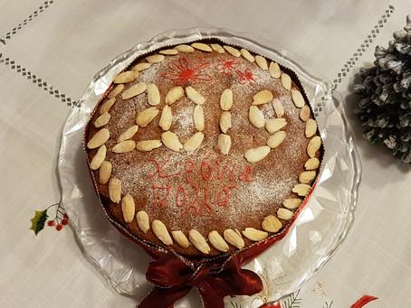 Vasilopita - New Year's cake