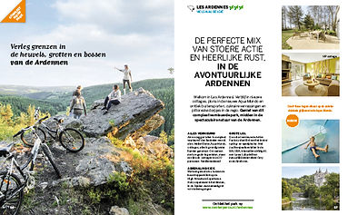 Center Parcs jaarbrochure 2018 - Mountainbiken in Belgie