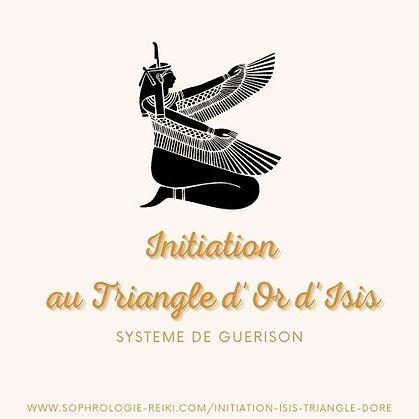 Initiation au triangle doré Isis Marine Panzovski Le Voyage Intérieur.jpg