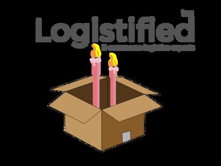 Logistified firar 2 år