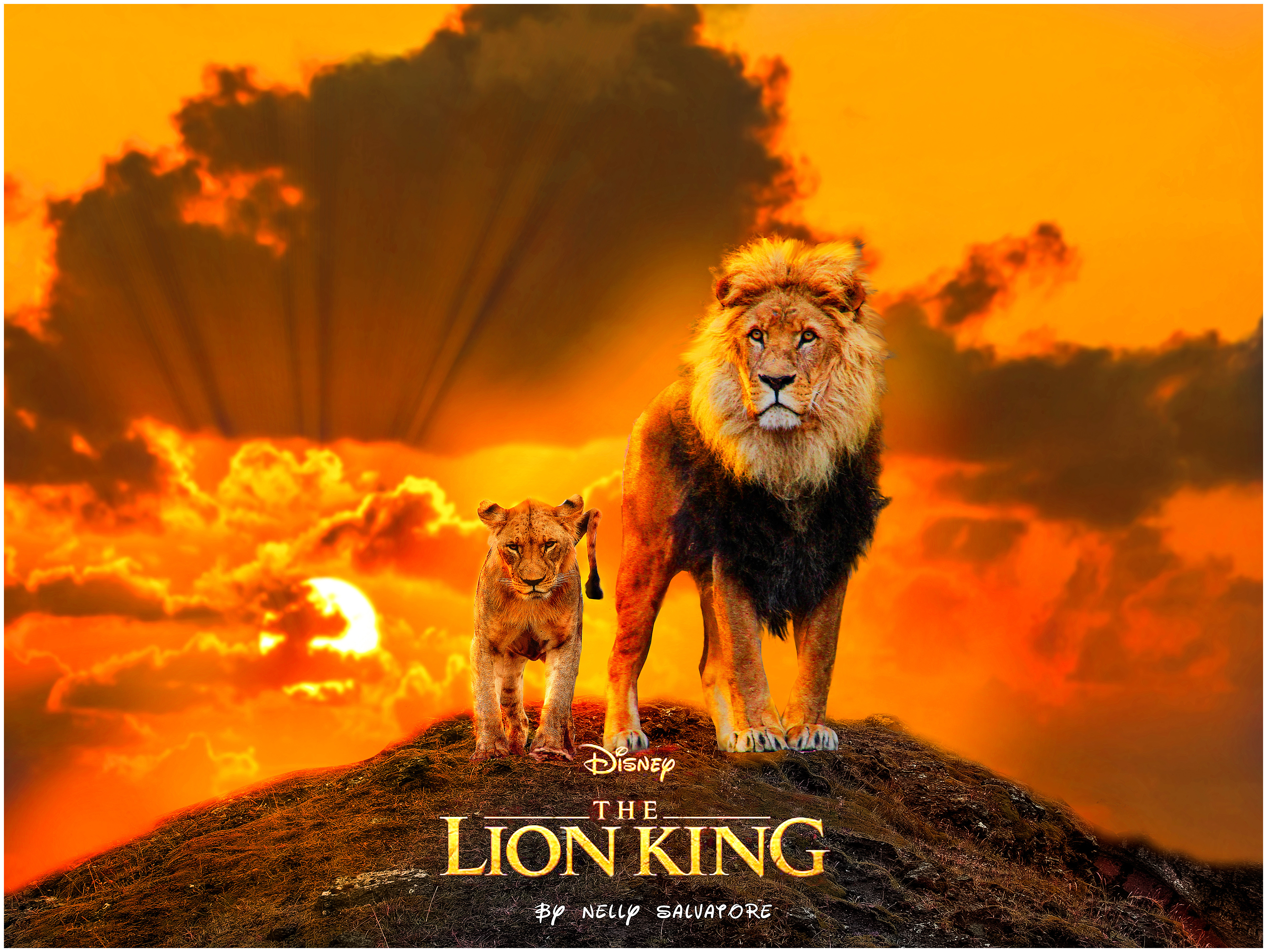 Lion King Movie 2019 Poster