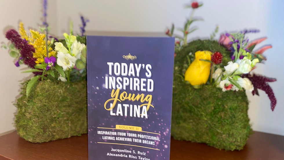 Signed Copy of Today's Inspired Young Latina Vol 2
