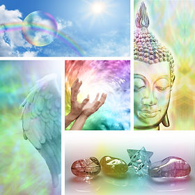 Holistic Healing Collage -  Five aspects