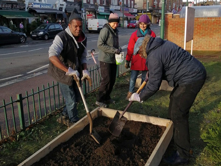 A new garden for the Methodist Church