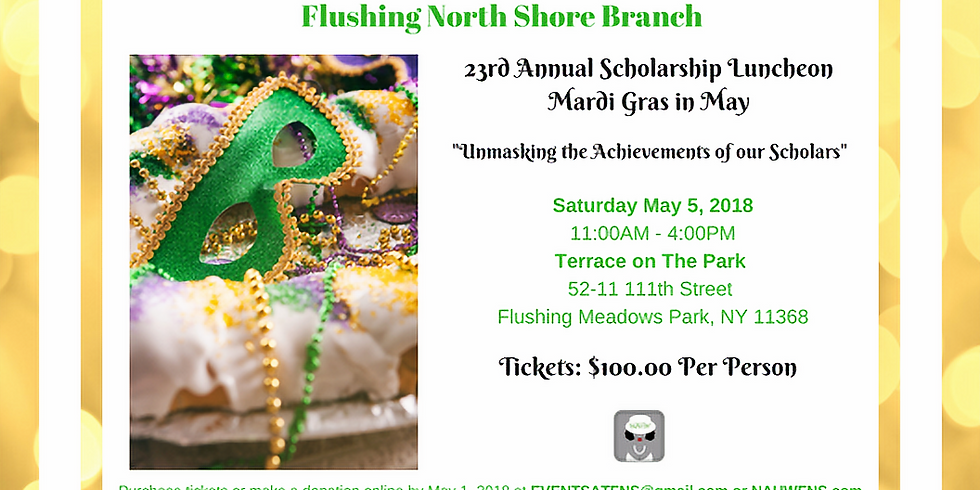 23rd Annual Scholarship Luncheon  SOLD OUT!!!!!!!!!!!!!!!!!!!!!!!