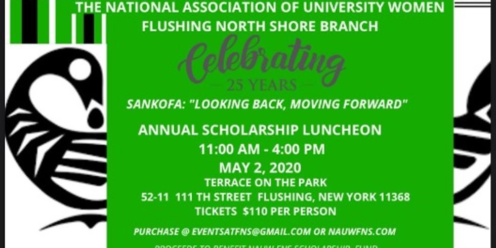 25th Anniversary Scholarship Event Sankofa: Looking Back Moving Forward